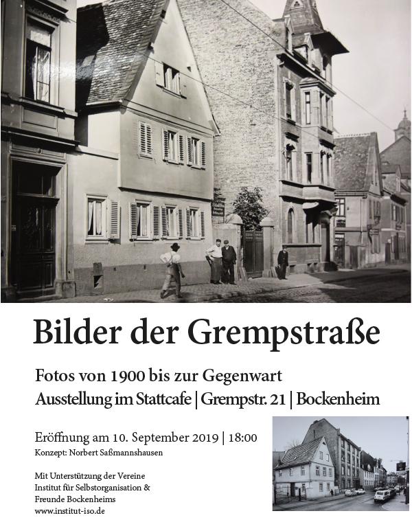 Ausstellung: Bilder der Grempstraße
