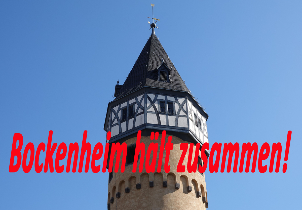 Bockenheim hält zusammen!
