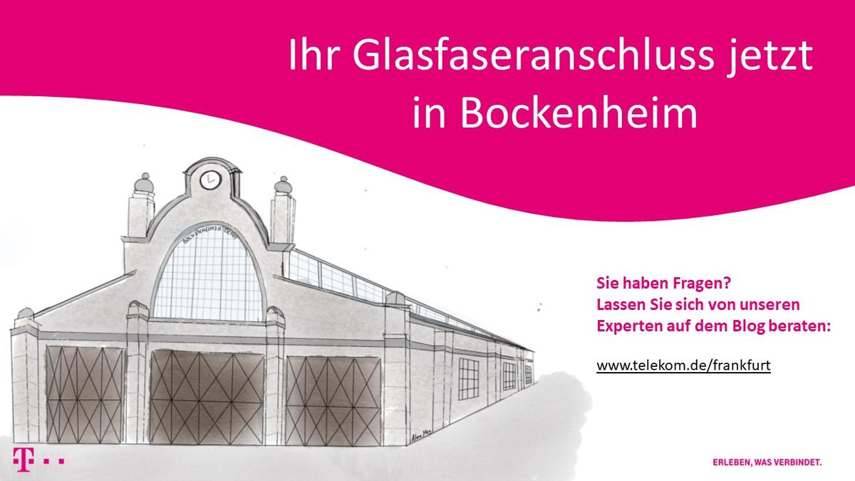 Glasfaser für Bockenheim